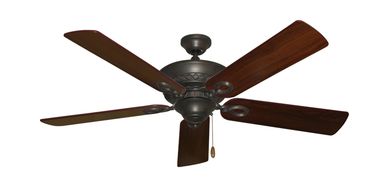 "Picture of Infinity Oil Rubbed Bronze with 52"" Walnut Blades"