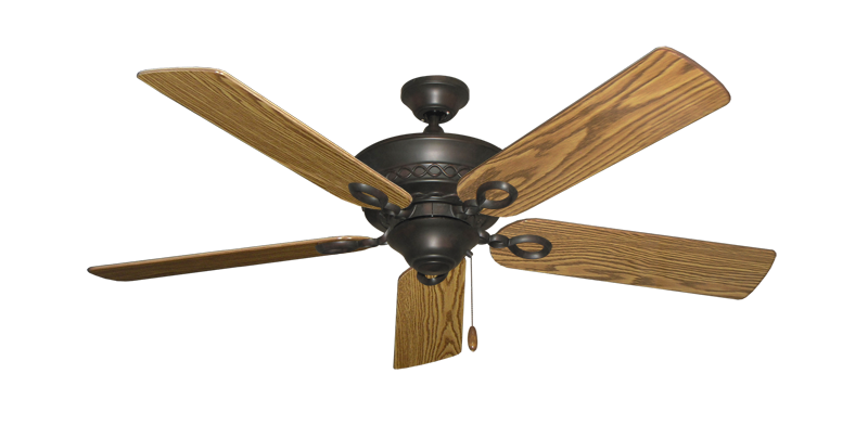 "Picture of Infinity Oil Rubbed Bronze with 52"" Oak Gloss Blades"