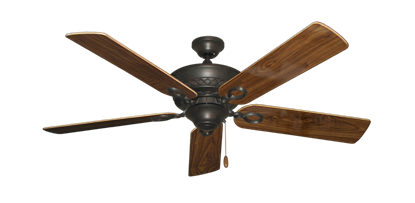 "Picture of Infinity Oil Rubbed Bronze with 52"" Walnut Gloss Blades"