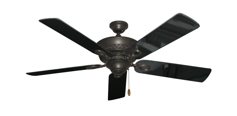 """Picture of Infinity Oil Rubbed Bronze with 52"""" Black Gloss Blades"""