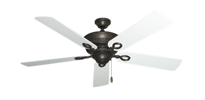 "Picture of Infinity Oil Rubbed Bronze with 52"" Textured White Blades"