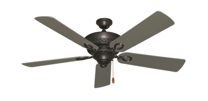 """Picture of Infinity Oil Rubbed Bronze with 52"""" Satin Steel (painted) Blades"""