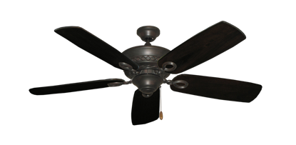 "Picture of Infinity Oil Rubbed Bronze with 52"" Series 710 Arbor Dark Walnut Blades"