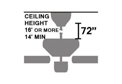 """Picture of 72"""" Extension Pole (1/2"""" Diameter)"""
