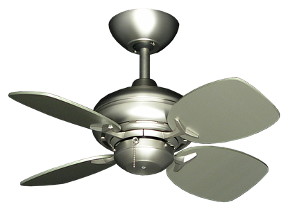 "Picture of 26"" Mini Breeze Ceiling Fan in Satin Steel"