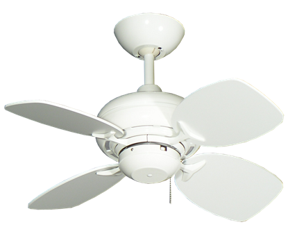 """26"""" Mini Breeze Ceiling Fan in Pure White"""