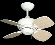 "Picture of 26"" Mini Breeze Ceiling Fan in Pure White"