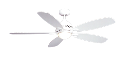 "52"" Ramsey Ceiling Fan in Textured White"