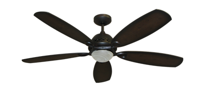 "52"" Ramsey Ceiling Fan in Oil Rubbed Bronze with Remote Control"