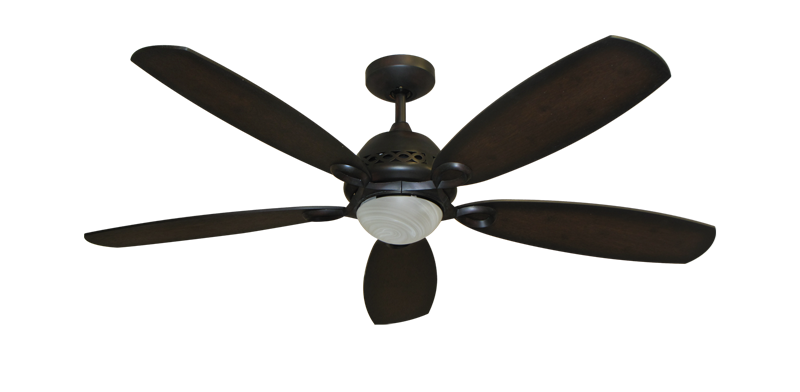 "Picture of 52"" Ramsey Ceiling Fan in Oil Rubbed Bronze with Remote Control"