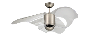 Picture of The L.A. 44 in. Indoor/Outdoor Satin Steel Ceiling Fan