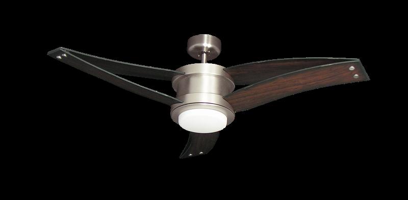 Picture of Triton II 52 in. Satin Steel Ceiling Fan