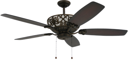 Picture of Excalibur 60 in. Rubbed Bronze Uplight Ceiling Fan