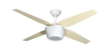 Picture of Fresco 52 in. Pure White Ceiling Fan with LED Light