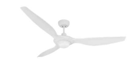Picture of Vogue Plus 60 in. WiFi Enabled Indoor/Outdoor Pure White Ceiling Fan with LED Light