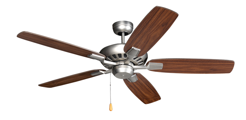 Picture of Saturn 52 in. Satin Steel Ceiling Fan