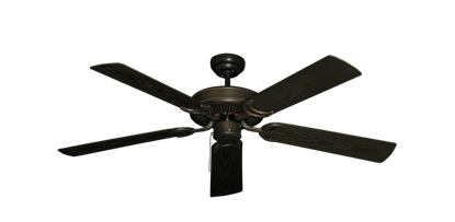 "Picture of 52"" Porch Fan in Oil Rubbed Bronze"