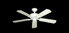 """42"""" Porch Fan in Pure White"""
