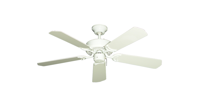 "Picture of 42"" Porch Fan in Pure White"