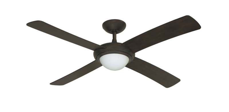 52 Luna Indoor Outdoor Ceiling Fan And, Outdoor Ceiling Fans With Remote Control And Light