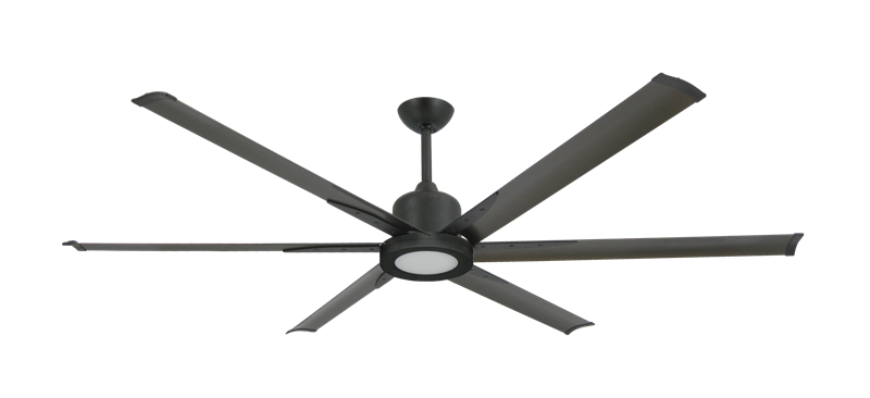 "Titan II Oil Rubbed Bronze with 72"" Aluminum Oil Rubbed Bronze Blades with 18W LED Array Light and Remote"