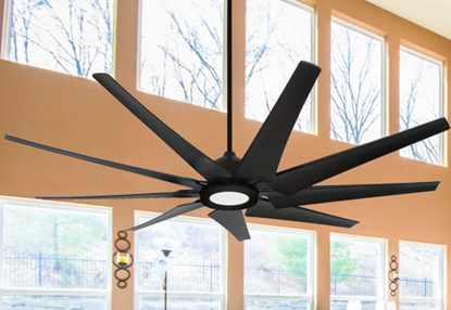 Picture of Liberator 72 in. WiFi Enabled Indoor/Outdoor Oil Rubbed Bronze Ceiling Fan With 18W LED Array Light