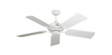 """Picture of Coastal Air Pure White with 44"""" Pure White Blades"""