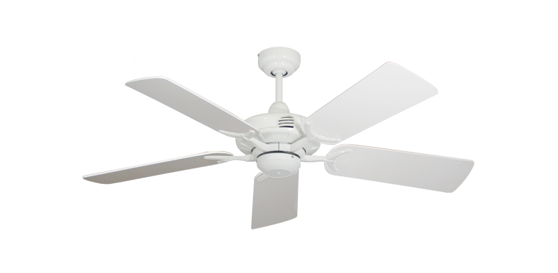 "Picture of Coastal Air Pure White with 44"" Pure White Blades"