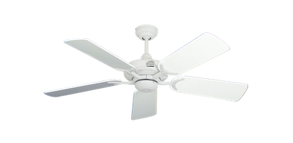 """Picture of Coastal Air Pure White with 44"""" Pure White Gloss Blades"""
