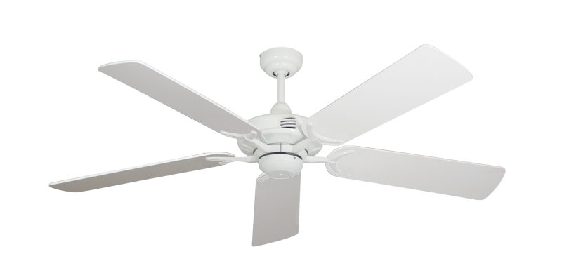 "Picture of Coastal Air Pure White with 52"" Pure White Blades"