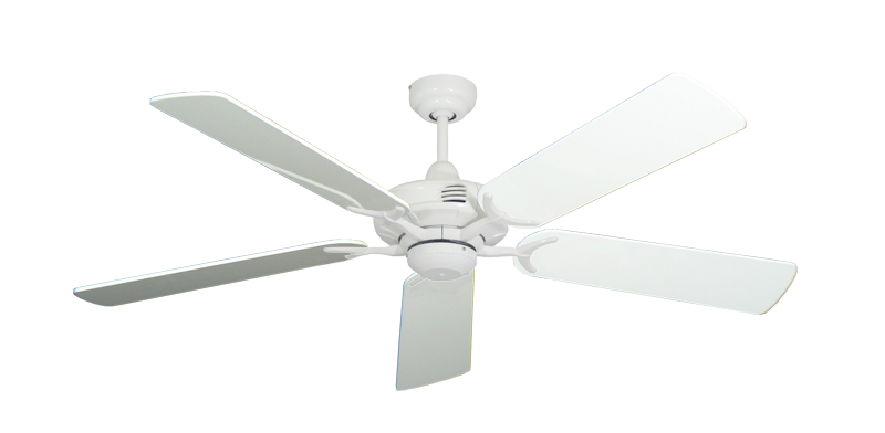 """Picture of Coastal Air Pure White with 52"""" Pure White Gloss Blades"""