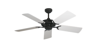 """Coastal Air Oil Rubbed Bronze with 44"""" Pure White Blades"""