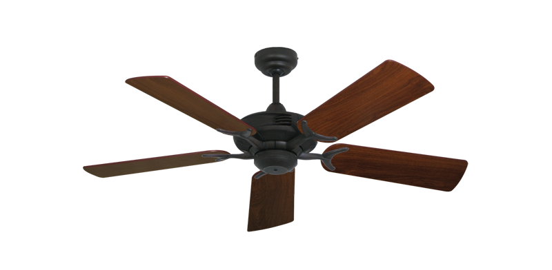 "Picture of Coastal Air Oil Rubbed Bronze with 44"" Walnut Blades"
