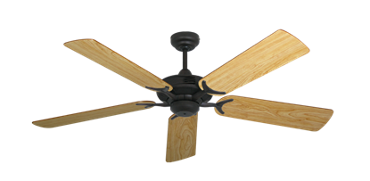 """Picture of Coastal Air Oil Rubbed Bronze with 52"""" Maple Blades"""