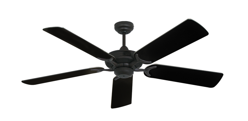 "Picture of Coastal Air Oil Rubbed Bronze with 52"" Black Blades"