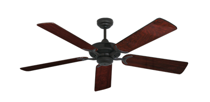 """Picture of Coastal Air Oil Rubbed Bronze with 52"""" Cherrywood Gloss Blades"""