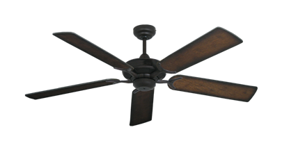 "Picture of Coastal Air Oil Rubbed Bronze with 52"" Distressed Hickory Blades"
