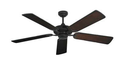 "Picture of Coastal Air Oil Rubbed Bronze with 52"" Distressed Cherry Blades"