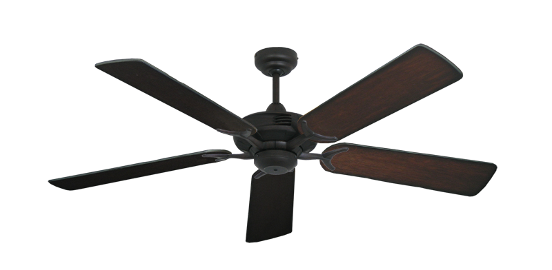 """Picture of Coastal Air Oil Rubbed Bronze with 52"""" Distressed Cherry Blades"""