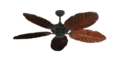 "Picture of Coastal Air Oil Rubbed Bronze with 52"" Series 125 Arbor Cherrywood Blades"