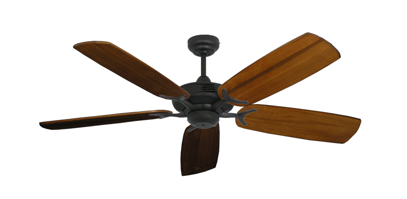 """Picture of Coastal Air Oil Rubbed Bronze with 52"""" Series 425 Arbor Oak Blades"""