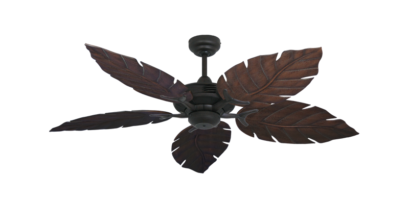 """Picture of Coastal Air Oil Rubbed Bronze with 52"""" Venetian Oil Rubbed Bronze Blades"""