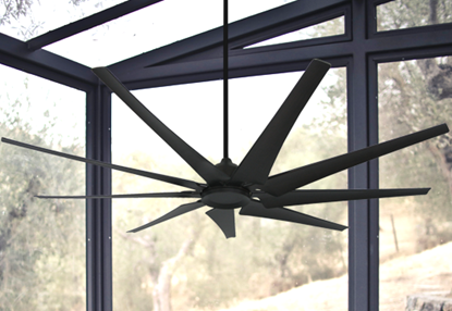Liberator 82 in. WiFi Enabled Indoor/Outdoor Oil Rubbed Bronze Ceiling Fan