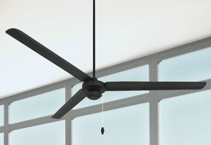 Tornado 72 in Oil Rubbed Bronze Industrial Ceiling Fan