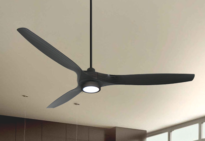 Solara 60 in. WiFi Enabled Indoor-Outdoor Oil Rubbed Bronze Ceiling Fan with 15W LED Light and Remote