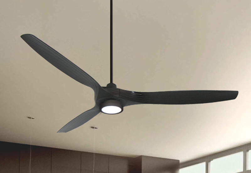Solara 60 In Wifi Enabled Indoor Outdoor Oil Rubbed Bronze Ceiling Fan With 15w Led Light And Remote Dan S Fan City C Ceiling Fans Fan Parts Accessories