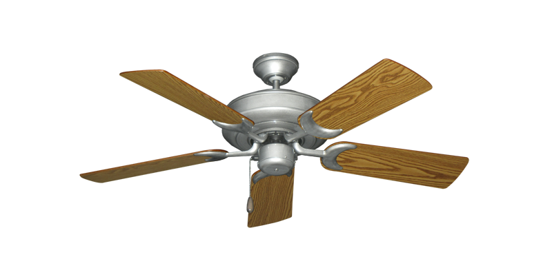 """Picture of Raindance Brushed Nickel BN-1 with 44"""" Oak Blades"""