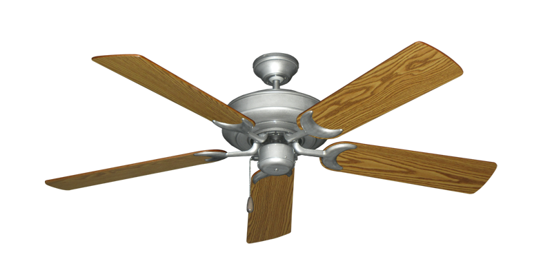 "Picture of Raindance Brushed Nickel BN-1 with 52"" Oak Blades"