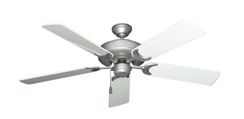 "Picture of Raindance Brushed Nickel BN-1 with 52"" Pure White Gloss Blades"