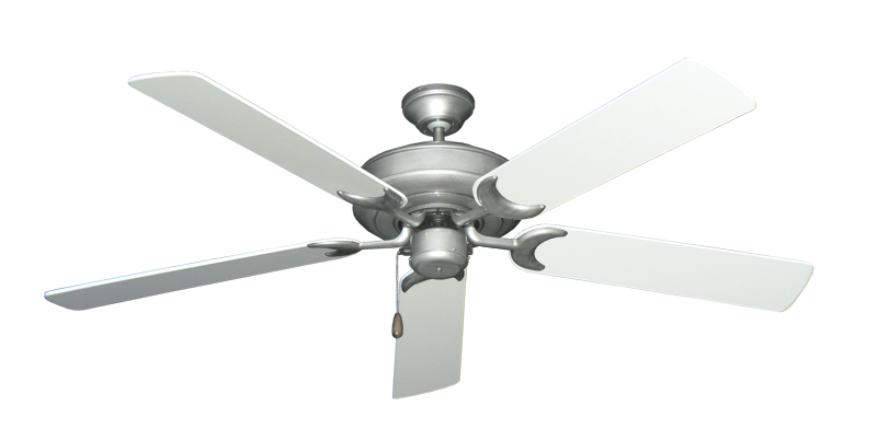 "Picture of Raindance Brushed Nickel BN-1 with 56"" Pure White Blades"